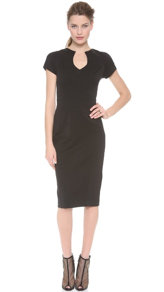 Black Halo Gypsy Rose Sheath Dress