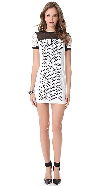 Black Halo Vanessa Mini Dress