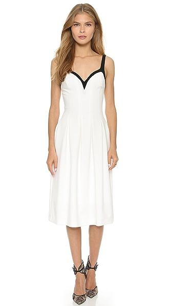 Kupi Black Halo haljinu online i raspordaja za kupiti Black Halo Mallory Colorblock Dress Porcelain/Black online