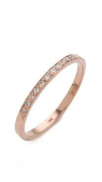 blanca monros gomez 10 Diamond Band Ring