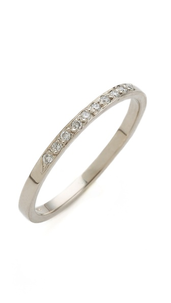 blanca monros gomez 10 Diamond Band Ring