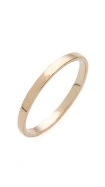 blanca monros gomez Flat Band Ring