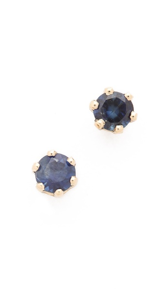 blanca monros gomez Little Sapphire Stud Earrings