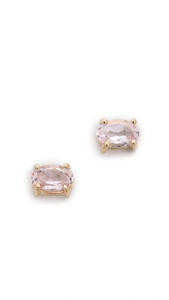 blanca monros gomez Morganite Stud Earrings