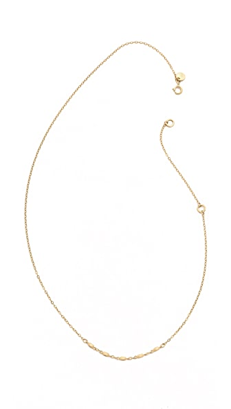 Blanca Blanca Chain Lavalier Necklace (Yellow)