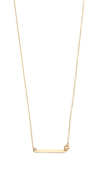 Blanca Blanca Long ID Necklace (Yellow)