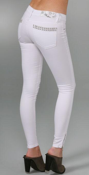 Blank Denim Classique Skinny Jeans with Studs