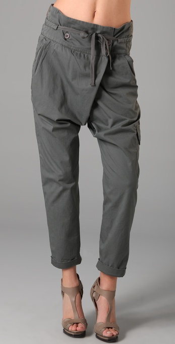 Blank Denim Army Harem Cargo Pants