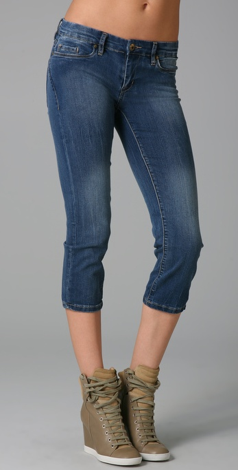 Blank Denim Cropped Skinny Jeans