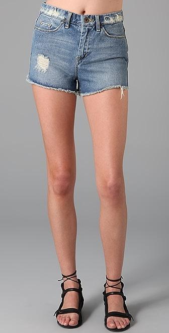 Blank Denim Classique Cutoff Shorts