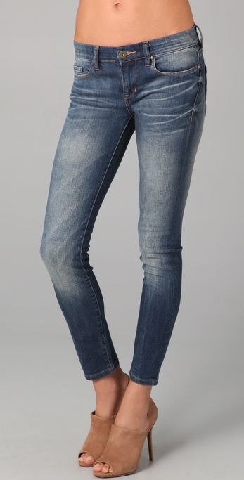 Blank Denim Vintage Soft Wash Ankle Skinny Jeans
