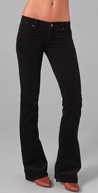 Blank Denim Corduroy Bell Bottom Pants
