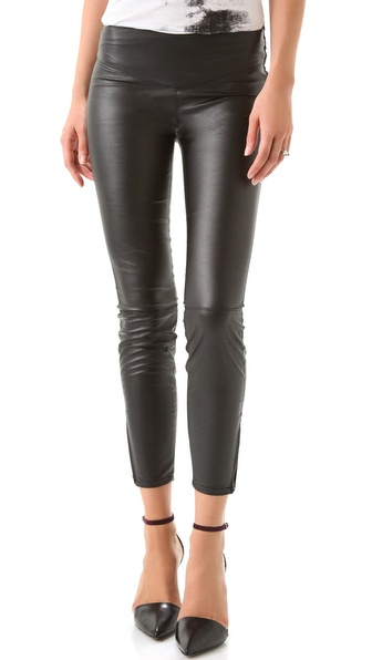 Blank Denim Vegan Faux Leather Leggings