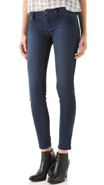 Blank Denim Two Tone Skinny Jeans