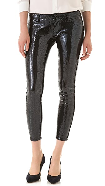 Blank Denim Sequined Skinny Pants