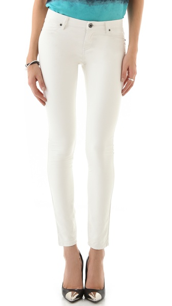 Blank Denim Vegan Leather Skinny Pants