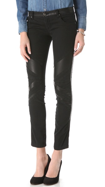 Blank Denim Multi Seam Skinny Jeans