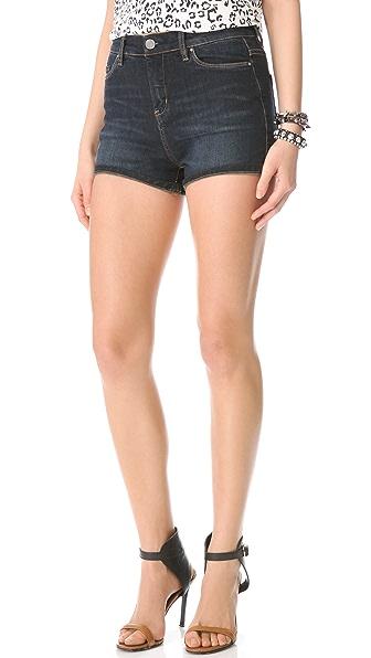 Blank Denim High Rise Shorts