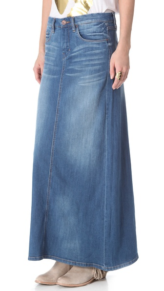 Blank Denim Denim Maxi Skirt