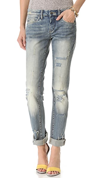 Blank Denim Relaxed Straight Leg Jeans