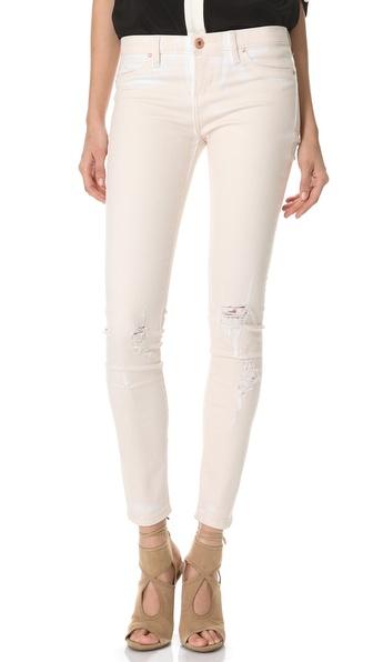 Blank Denim Painted Skinny Jeans