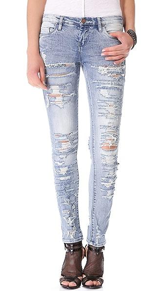 Blank Denim Distressed Jeans