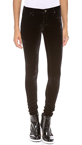 Blank Denim Velvet Skinny Pants