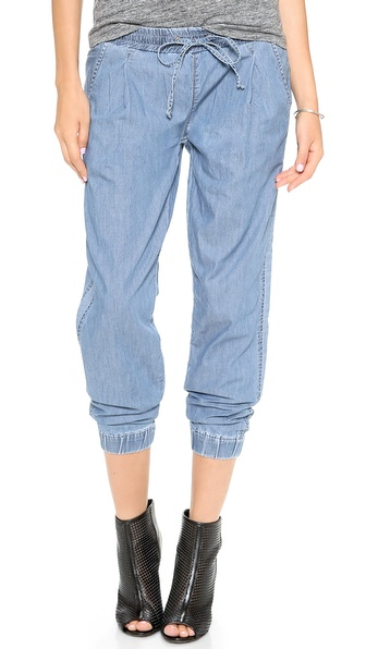 Blank Denim Track Trouser Jeans - Videogram