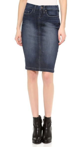 Blank Denim Denim Pencil Skirt