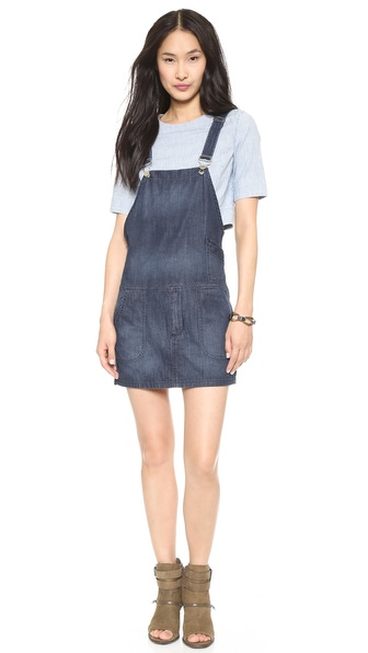 Blank Denim Overall Dress