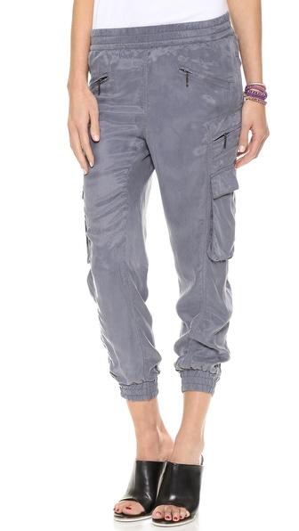 Blank Denim Cargo Track Pants