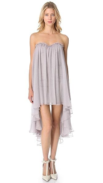 Blaque Label Chiffon Sweetheart Dress