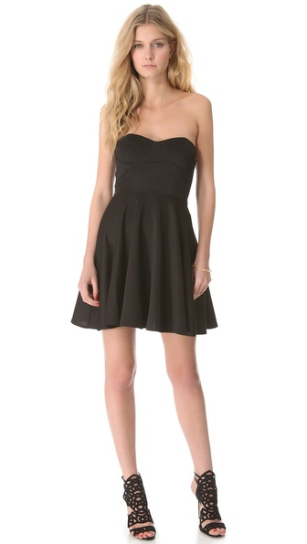 Blaque Label Strapless Dress