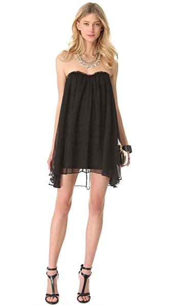 Blaque Label Strapless Mini Dress
