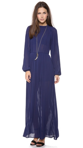 Blaque Label Long Sleeve Maxi Dress