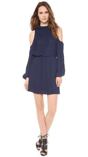 Blaque Label Long Sleeve Open Shoulder Dress