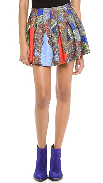Blaque Label Print Skirt