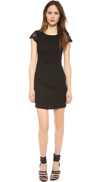 Blaque Label Scalloped Dress