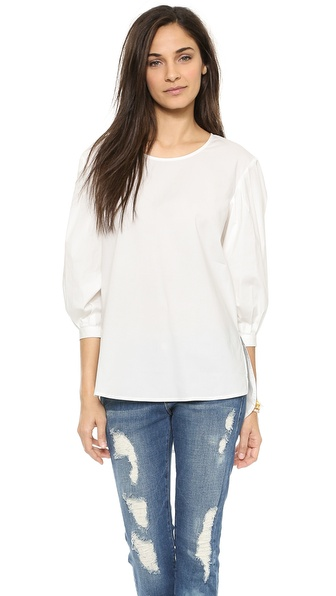 Blaque Label Poplin Top
