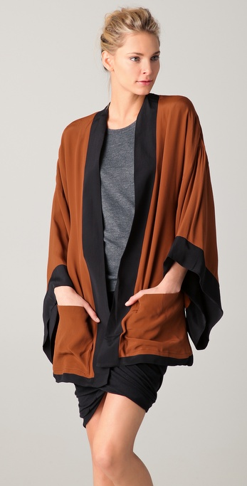 BLK DNM Reversible Kimono Jacket