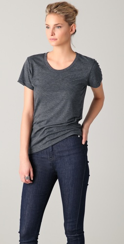 BLK DNM Classic Round Neck T-Shirt