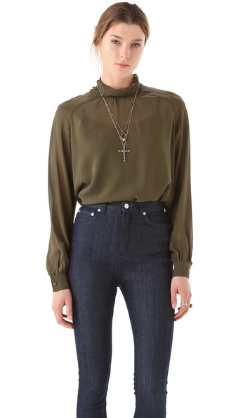 BLK DNM Dolce Vita Blouse