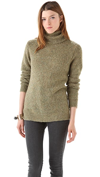 BLK DNM Alpaca Turtleneck Sweater