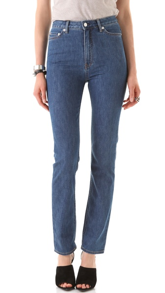 BLK DNM High Waisted Straight Leg Jeans