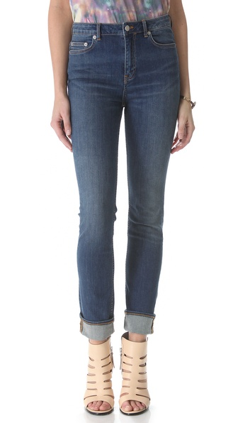BLK DNM Slim Straight Leg Jeans