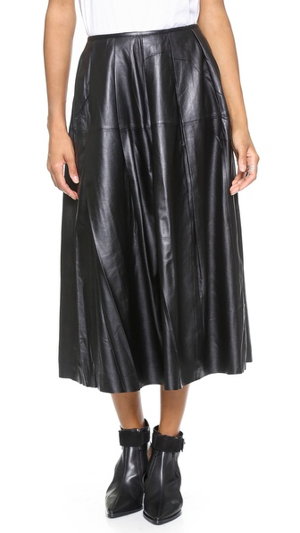 BLK DNM Leather Skirt 26