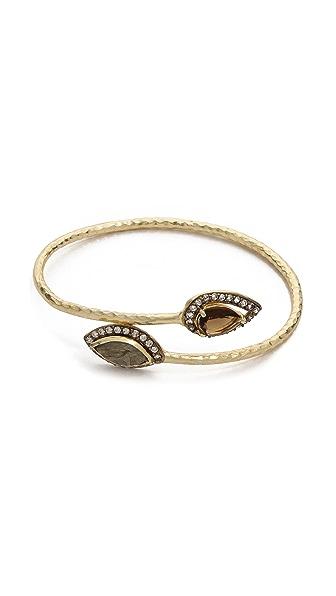 Blossom Box Pave Petal Bracelet