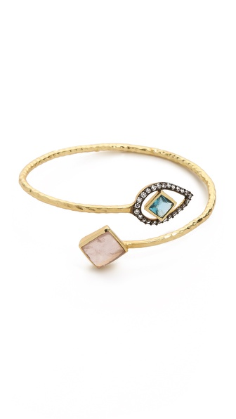 Blossom Box Two Tone Stone Bracelet