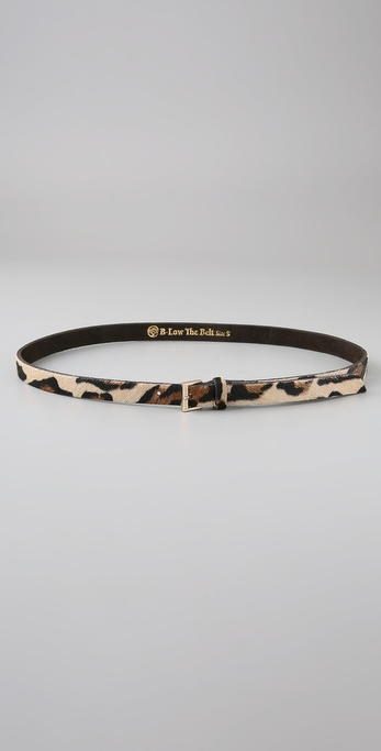 B-Low The Belt Jerry Leopard Belt