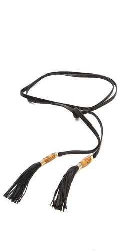 B-Low The Belt Bamboo Tassle Belt